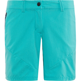 Ziener Eib Korte Broek Dames, mermaid green